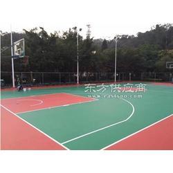 塑料地板室外塑胶篮球场_恒辉塑胶篮球场_塑胶篮球场图片