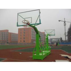 室外地埋篮球架,国人体育器材(已认证),六盘水篮球架图片