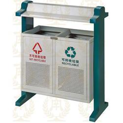 河南公园垃圾箱定制-垃圾箱(嘉美环保)(查看)图片