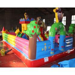 大型儿童充气城堡、充气城堡、太原悠乐玩教具(查看)图片