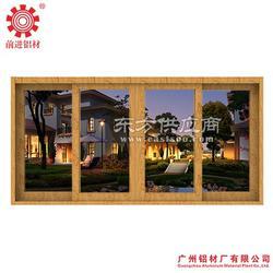 铝合金门窗型材 88系列铝合金推拉窗型材图片