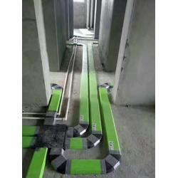 扬州地送风扁管、柯奥环境、地送风扁管PVC图片