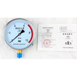 膜盒压力表YE-1502.5级图片