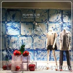 供应夏季橱窗樱桃冰块道具定制 透明冰块橱窗水果樱桃展示道具制作图片