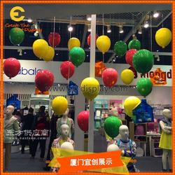 气球热气球吊挂道具订制 展览展会商场橱窗陈列气球道具制作厂家图片