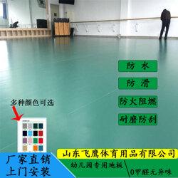 PVC地板防水防滑 舞蹈室专用塑胶地板耐磨防刮地胶厂家直销图片