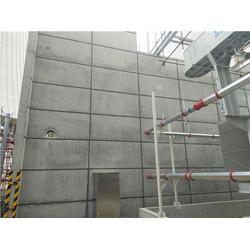 电厂防火墙混凝土装修-德阳混凝土涨模装修-宏宇装修一生无忧图片