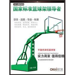 欧凯体育用品(图)|移动篮球架厂|移动篮球架图片