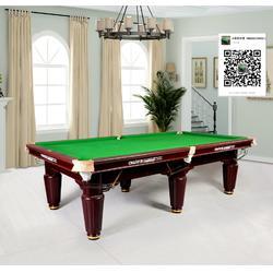 黑八台球桌-台球桌厂家-万江台球桌