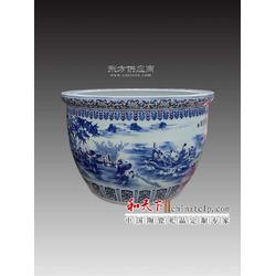 陶瓷大缸、高档陶瓷大缸定做图片
