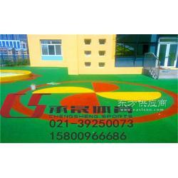 供应幼儿园塑胶地坪铺设材料图片