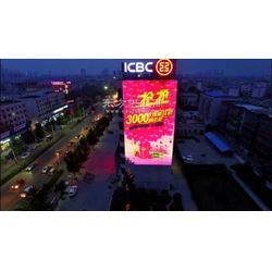 供应户外投影设备,都市巨影科技W155-HGL6000楼体巨幅广告投影机,户外商业促销活动投影PG灯图片