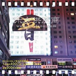 户外巨幅广告投影灯_墙面广告投影_都市巨影科技图片
