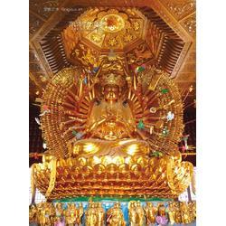 定做寺庙大小型供奉佛像雕塑厂家图片