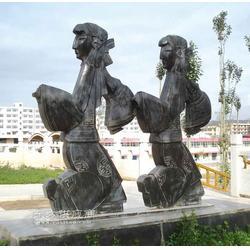 皮影石雕广场园林公园景观雕塑图片