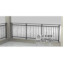 别墅阳台护栏订制、别墅阳台护栏、冠派楼梯(图)图片