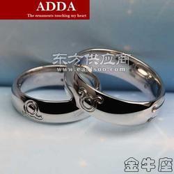 彩中宝饰品十二星座金牛座戒指,925银饰免费拿样图片