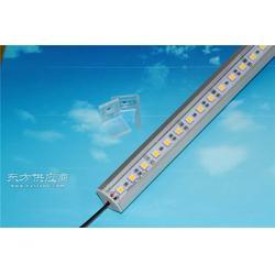 led带铝槽双排5050硬灯条图片