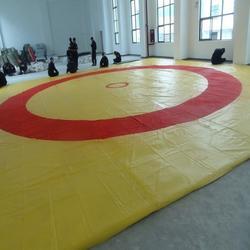 华翔体育现货直销(图),摔跤垫盖单,吉林摔跤垫图片