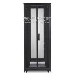 48U机柜,600mm宽x1060mm深x2324mm高,带侧板,apc黑色ar2407原装机柜图片