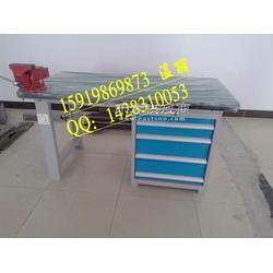 复合板高分子材料工作台带台钳双人检修工作台定制配工具柜钳台桌图片