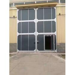 工业卷帘门,太原工业门,太原鑫威达安防图片