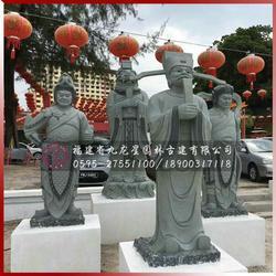 案例实景图-马来西亚海珠屿石雕海龙王虾兵蟹将海边景观图片