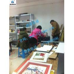 义乌钻石画裱框培训、国画装裱培训哪里有、盛隆国画装裱学习图片