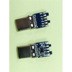 晴达加工USB TYPE-C拉伸usb3.1公头、订做usb图片