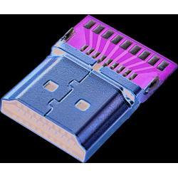 晴达供应USB3.1CM、hdmi焊线公头、加工hdmi图片