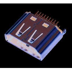 hdmi夹板公头 晴达量产USB TYPE-C 定制hdmi图片
