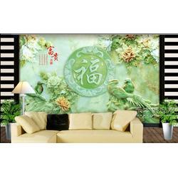 艺术瓷砖背景墙厂家图片