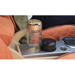 玻璃杯品牌、泰安玻璃杯、免费印字诗如意水杯厂家(查看)图片