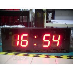 超大双面数码电子时钟医院走廊双面显示LED电子时钟车间时间看板图片