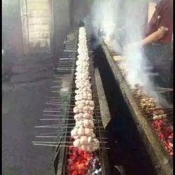 牛阵特色海鲜烧烤店(图)、烧烤店加盟、烧烤店图片