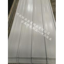 河北实体厂家采购彩钢冲孔板、静电喷涂压型彩钢冲孔板加工厂图片