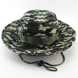 户外防晒遮阳帽子登山帽迷彩丛林帽奔尼帽渔夫帽男士女士图片