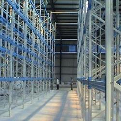 万联货架结实耐用、制作工业货架、工业货架图片