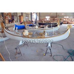 金威木船 旅游船 纯手工制造 款式新颖 贡多拉 可定制图片