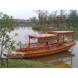金威木船纯手工制作合理单亭船图片