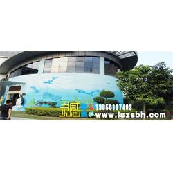 福州卧室手绘墙、福州手绘墙装修设计、手绘墙图片