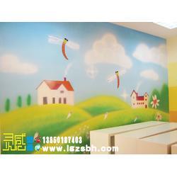 墙体彩绘|福州灵感墙体彩绘|福州幼儿园墙体彩绘图片