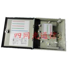 供应1分16暗装式光分路器分纤箱图片
