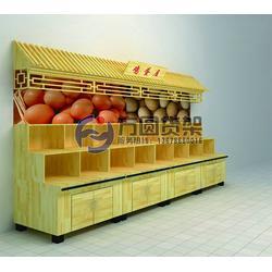 超市鸡蛋架,木质超市鸡蛋架,超市木制禽蛋柜图片