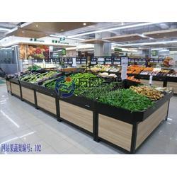 超市果蔬货架|实木水果货架|超市果蔬货架