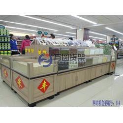 超市米面货架-超市米面货架厂家-超市大米斗子(多图)图片