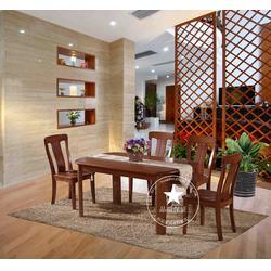 实木餐桌椅-四川实木餐桌椅-恒岳家具图片