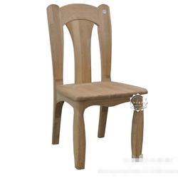 白茬餐椅_恒岳家具_实木白茬餐椅图片