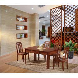橡木实木餐桌椅、宿迁市实木餐桌椅、恒岳家具(查看)图片