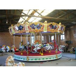 龙祥游乐设备、儿童转马、转马图片